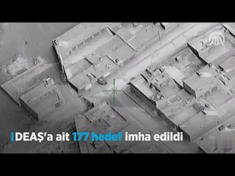 DEAŞ'a ait 177 hedef imha edildi