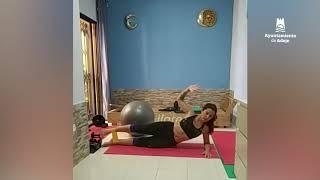 ver video: Sesión de Pilates con Simona