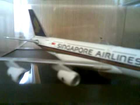 My collection of model aircraft