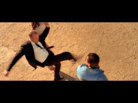 The Transporter 2002 Fight on the road scene thumbnail