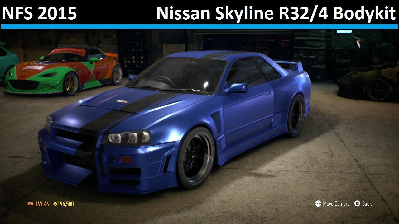 Nissan Skyline R32 4 Bodykit Need For Speed 2015 R32