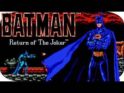 BATMAN RETURN OF THE JOKER (NES) : BATDANCE !