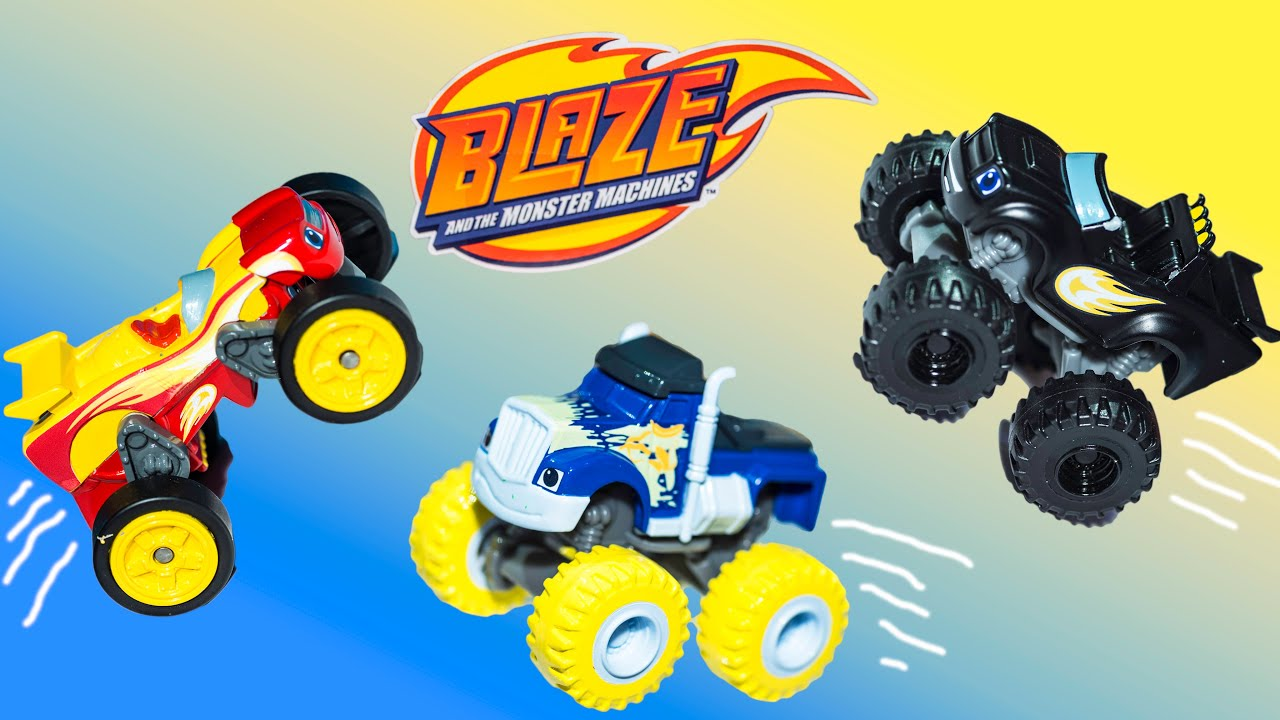 blaze and the monster machines new color changer monster truck toys