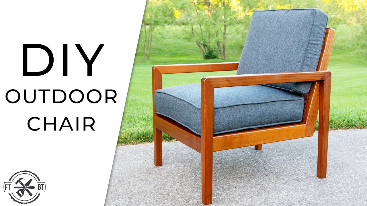 Modern Diy Outdoor Chair From Cedar 2x4s Fixthisbuildthat