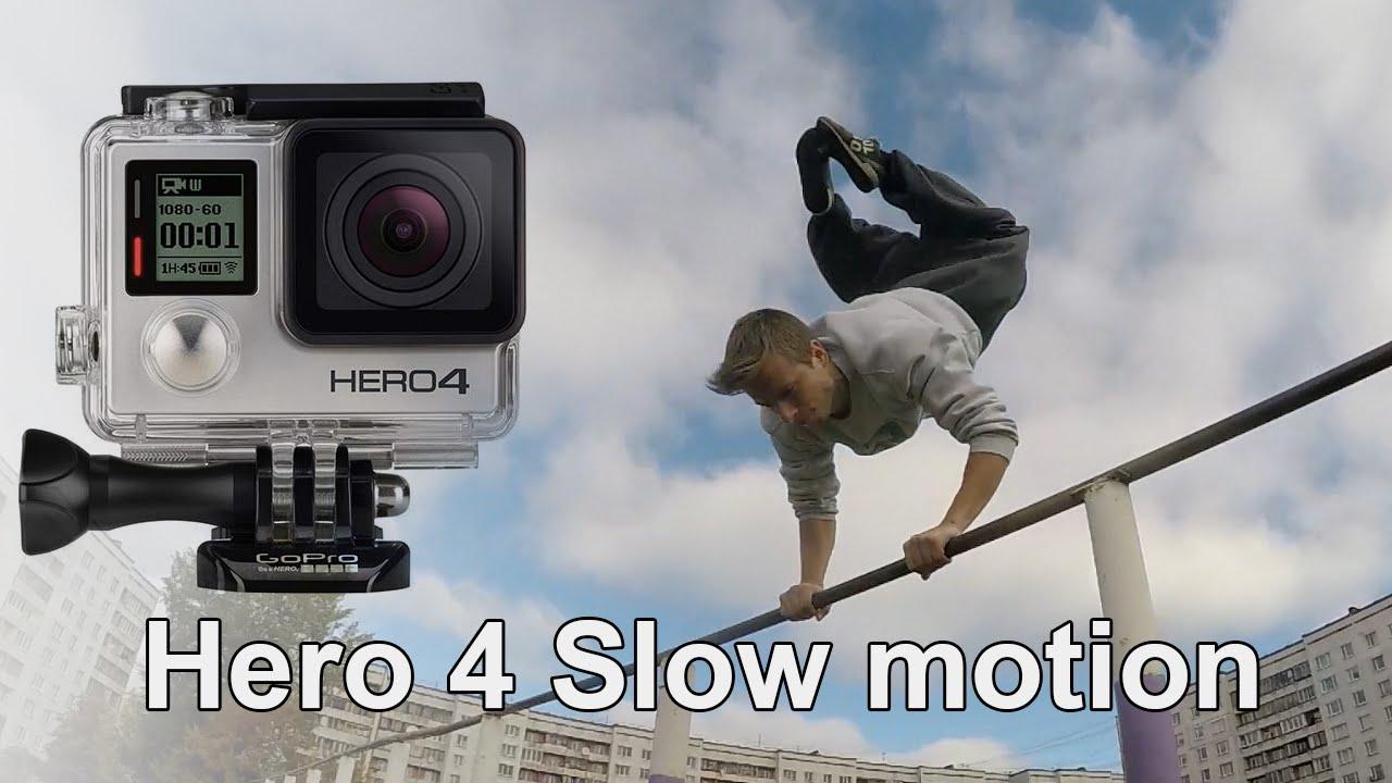 GoPro Hero 4 - Slow motion test. Full HD 120 fps, VWGA 240 fps - YouTube