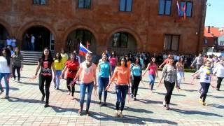 Flashmob- Hay Enq Menq Армяне Калининграда