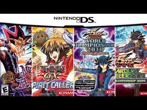 YuGiOh! Games on DS