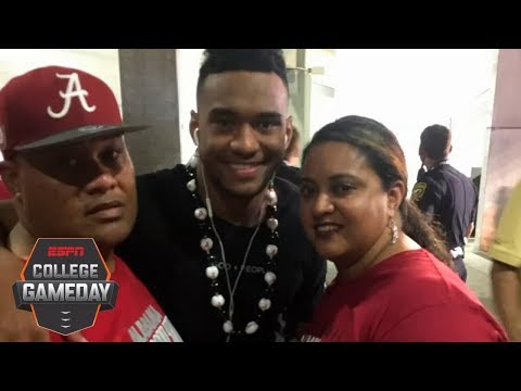 To Tua Tagovailoa 'Ohana' takes on a much different meaning | College GameDay