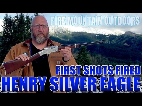 Henry Silver Eagle Rifle .22lr - First Shots Fired