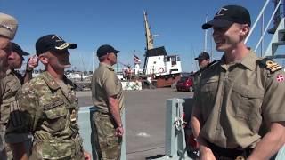Amerikansk admiral besøger Danmark
