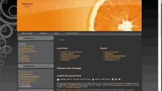joomla.server-deutschland.de - Template Installation