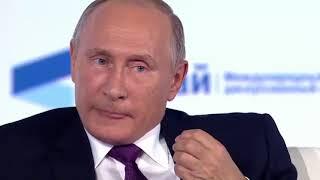 РОССИЯ:Владимир Путин о Северной Корее и олимпийских играх(Валдай 2017)