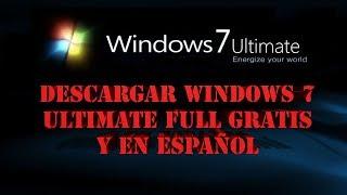 DESCARGAR WINDOWS 7 ULTIMATE   1 SOLO LINK   [MEDIAFIRE]   FULL GRATIS Y EN ESPAÑOL.