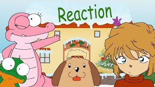 ai haibara s reaction to a random schnappi song merry x mas 2015