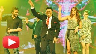 Govinda Dances With Saif Ali Khan, Illeana D'Cruz And Kalki Koechlin | Happy Ending Music Launch