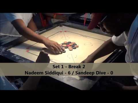 Mumbai Suburban District Tournament Final Nadeem Siddiqui Vs Sandeep Dive Set 1