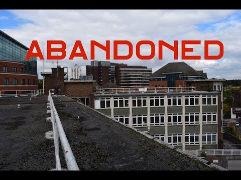 ABANDONED Offices Bromley EXPLORED (Caught!!!)