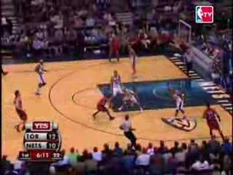 06-07 NBA Season Game1 Raps vs Nets @New Jersey