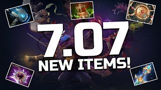 Dota 2 - 7.07 Dueling Fates Patch - ALL NEW ITEMS!