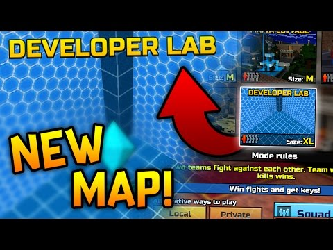 NEW Pixel Gun 3D Update! (New Map?! Developer Lab)