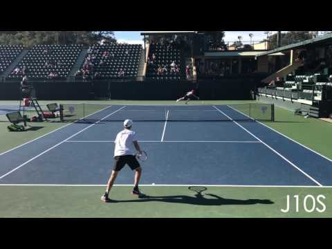 Cameron Norrie (TCU) vs Tom Fawcett (Stanford)