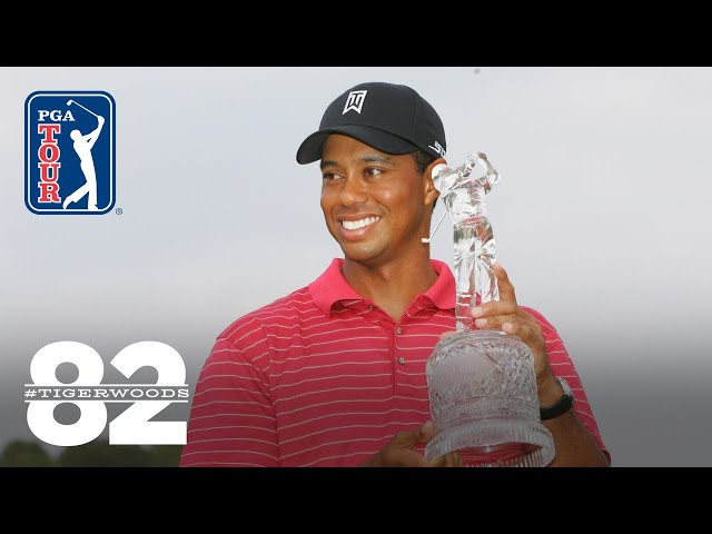 Tiger Woods wins THE TOUR Championship 2007 and FedExCup | Chasing 82