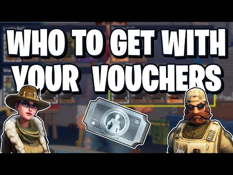 Who To Spend Your Hero Recruitment Vouchers On In Fortnite Save The World!