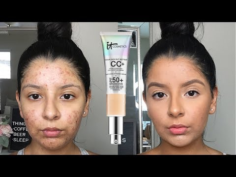 FULL COVERAGE FRIDAY: IT COSMETICS CC+ CREAM WITH SPF 50 | ZOEY HENAO