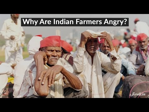 Why are Indian farmers angry and what are...