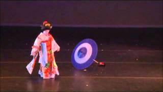 Ayame (Iris Flower) Kabuki Style Dance