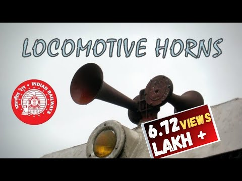 LOCOMOTIVE HORNS of Indian Railways: Variety unmatched !...
