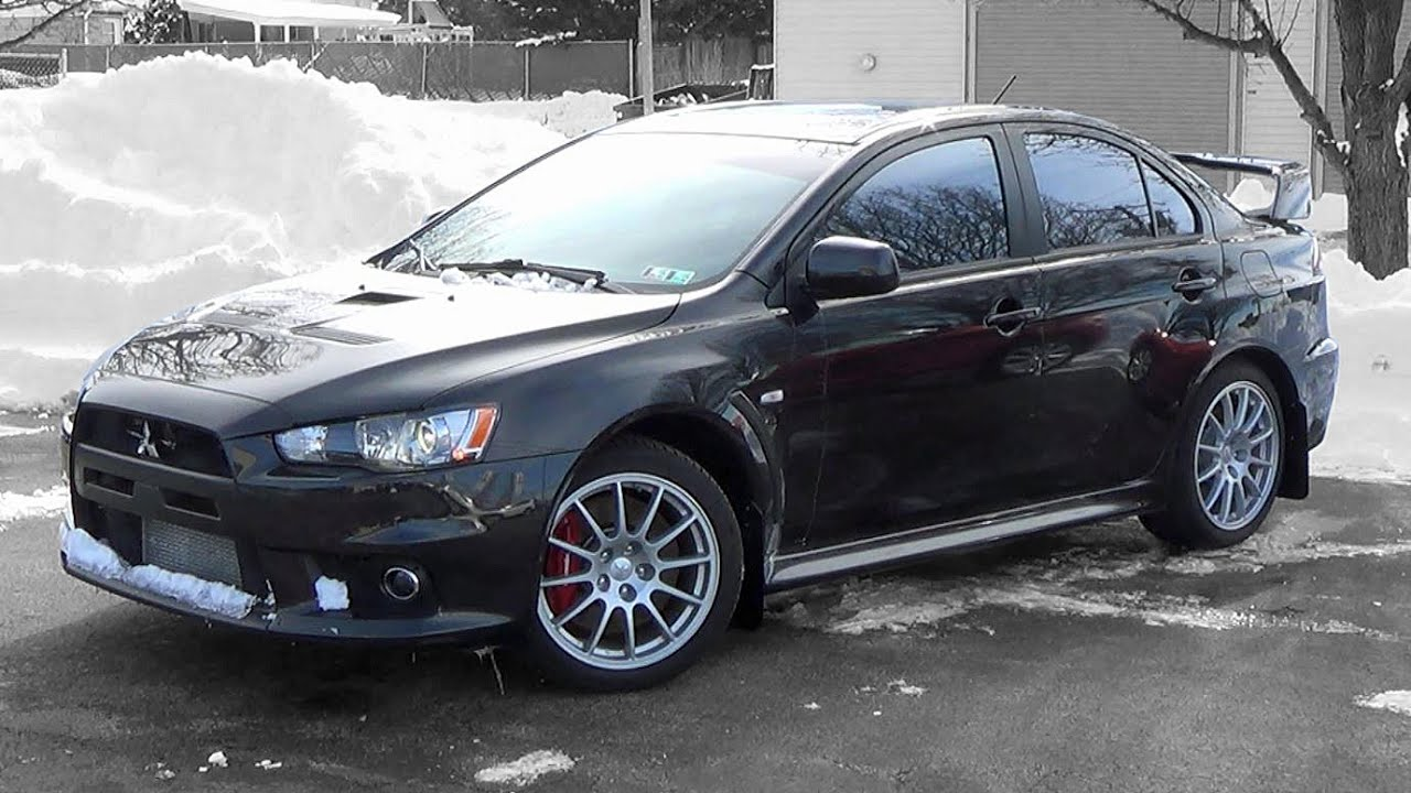 2014 Mitsubishi Lancer Evolution GSR: Review - YouTube