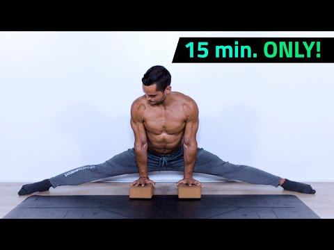 15 Minute Middle Split Routine - Hip Stretches (All Levels)
