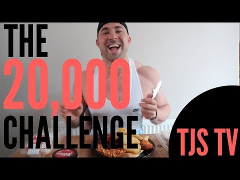 EPIC 20,000 CALORIE CHALLENGE// MAN VS FOOD // EPIC CHEAT DAY // NEVER EVER AGAIN