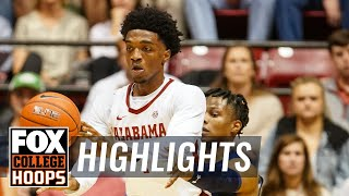 Alabama hands No. 4 Auburn first loss of the season in 83-64 blowout | FOX COLLEGE HOOPS HIGHLIGHTS