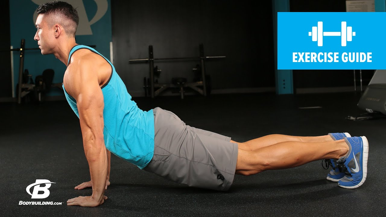 Dive bomber push up exercise guide youtube - Dive bomber push up ...