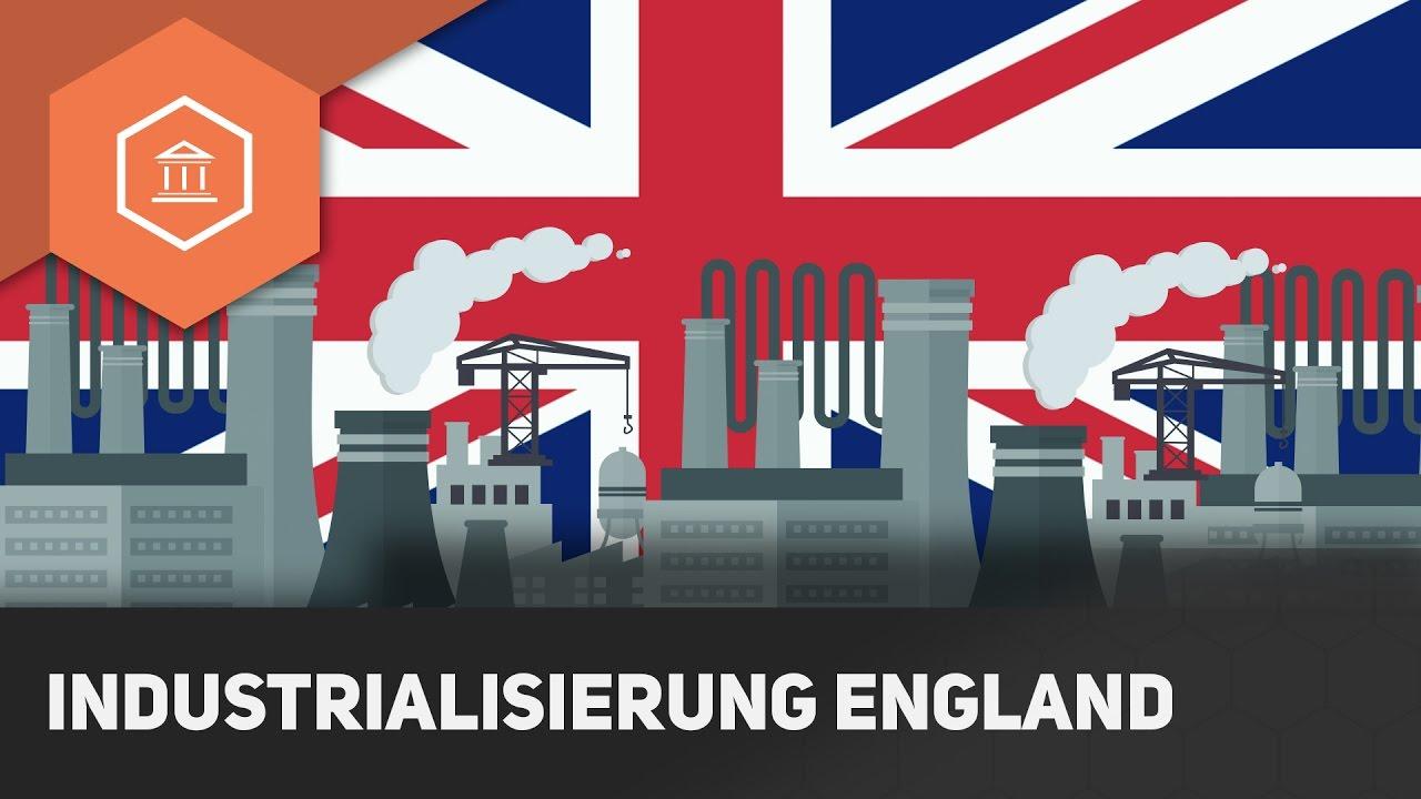 Beginn Industrialisierung