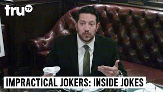 Impractical Jokers: Inside Jokes - Sal Pulls a Knife in a Business Lunch | truTV