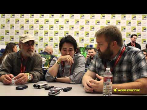 Robert Kirkman, Steven Yeun, Jeffrey DeMunn  Part 1  Walking Dead Season 2