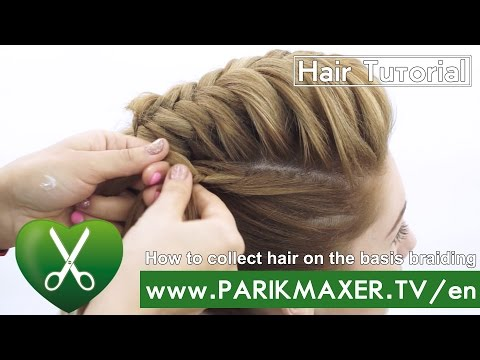 Braided Updo Hairstyle Parikmaxer