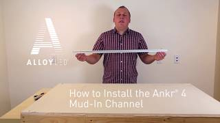 How to Install a Mud-In Channel for LED Lights