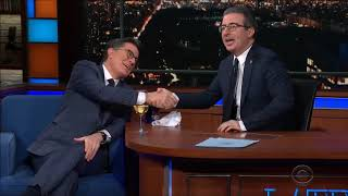 Colbert's love for his wife