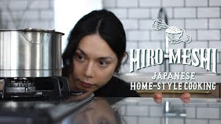 "#3 How To Cook ""DASHI"" Japanese Home-Style Cooking / Hiro Mizushima(水嶋ヒロ)"