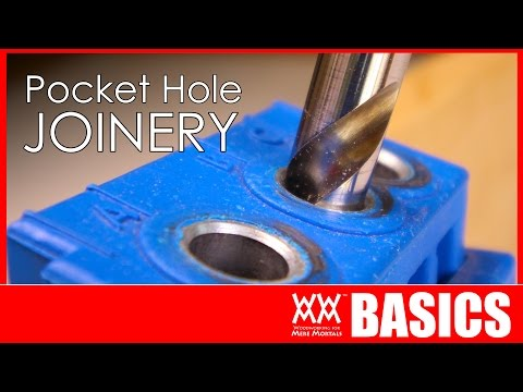 Beginner's guide to pocket hole joinery   WOODWORKING BASICS