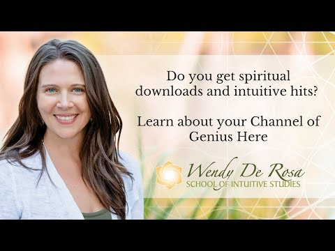 Do you get spiritual downloads and intuitive hits? Learn about your Channel of Genius Here