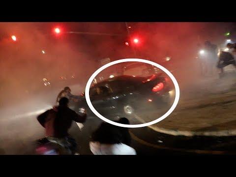 CAR MEET GONE WRONG!! (HOLY SH*T)