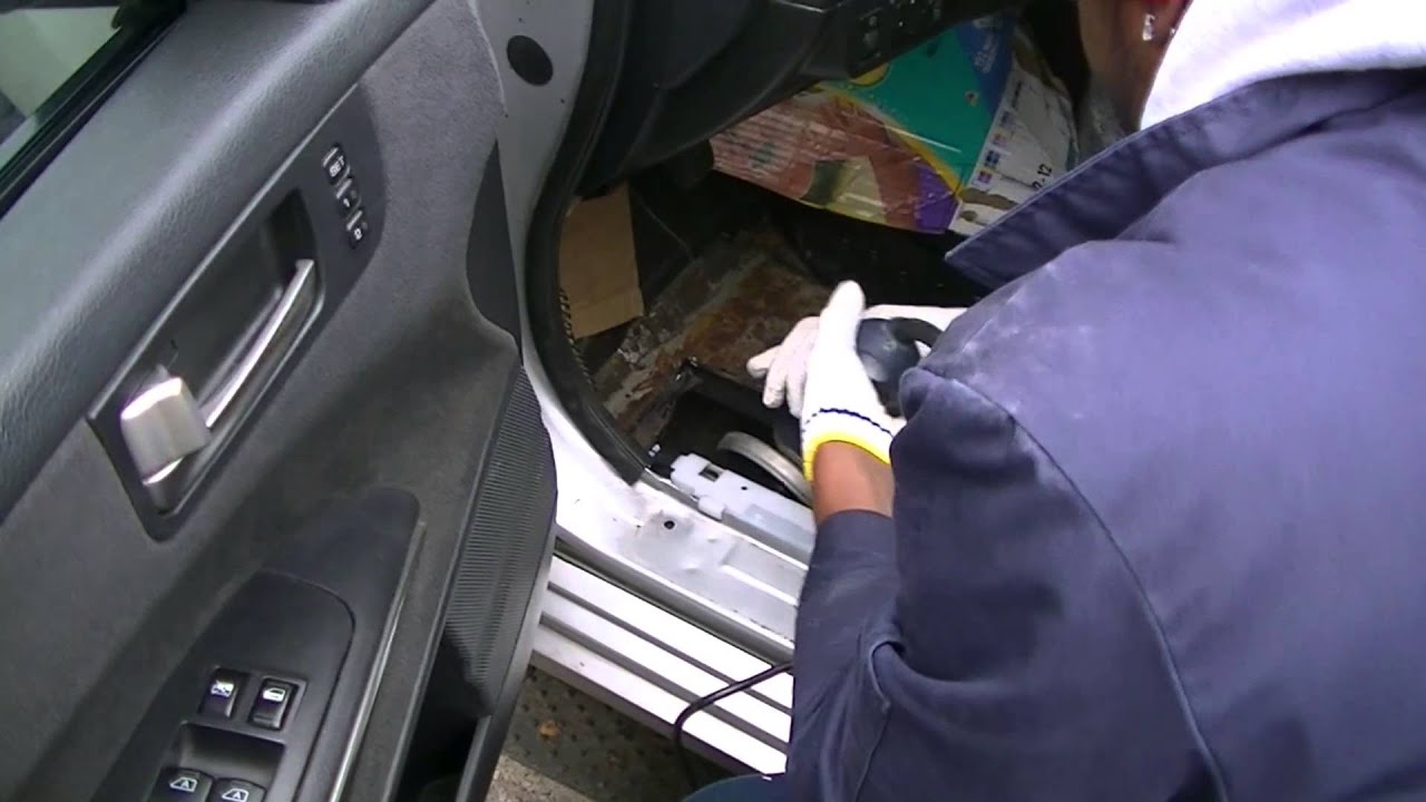 Relacing My Floor Panel On My Nissan Maxima Youtube