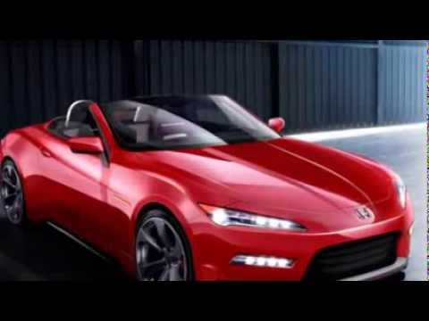 2015 Honda S2000 concept car S3000 - YouTube