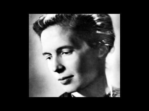 Schumann - Gesänge der Frühe, Op. 133 - Edith Picht-Axenfeld