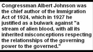 The Immigration Act of 1924 - Defending English Americans